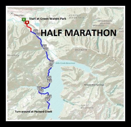 Half Marathon Map 1